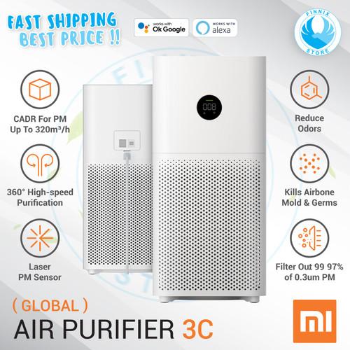 Foto Produk Xiaomi Mi Air Purifier 3H OLED Touch Display - Pembersih Udara - AP 3C Global dari Finnix Store
