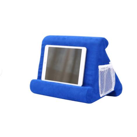 Foto Produk Stand Holder Bantal Lembut Multi Sudut Untuk iPad / Tablet - Blue sapphire dari Sentral Wakai