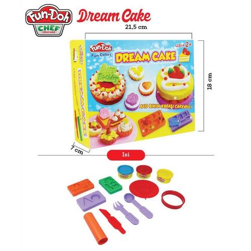 Foto Produk Fun Doh Dream Cake dari istanatoys.net