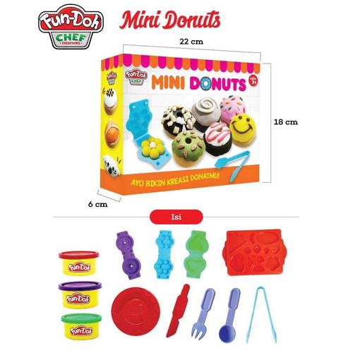 Foto Produk Fun Doh Mini Donat dari istanatoys.net