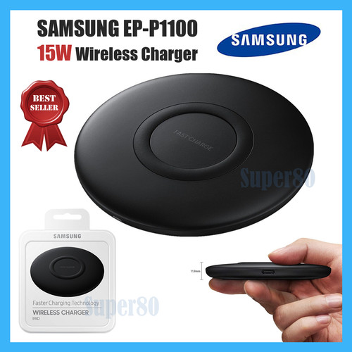 Foto Produk Wireless Charging Stand Qi Fast Charge Samsung Xiaomi iPhone Charger dari Super80