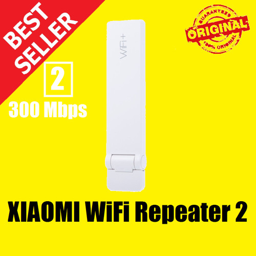 Foto Produk XIAOMI Mi WiFi Amplifier 2 Repeater Extender USB Wireless 300Mbps - RepeaterVrsiDua dari Y2R Cell