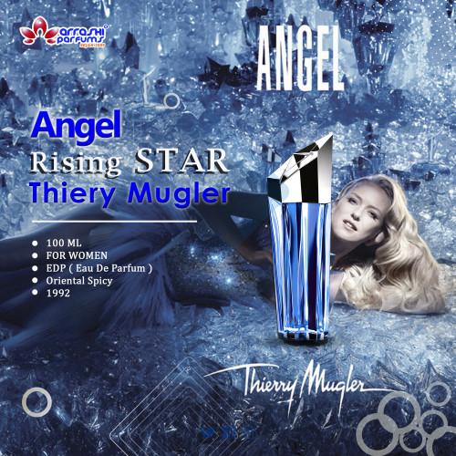 Foto Produk Angel Rising Star EDP 100ml / Parfum Wanita / Ori Reject / Ori Unbox dari Arrashi Homes