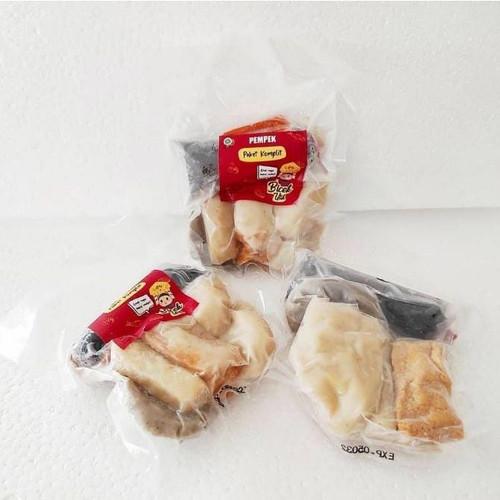 Foto Produk Pempek Palembang Bicek Utik - Personal Pack - Merah dari Mau Kenyang Frozen Food