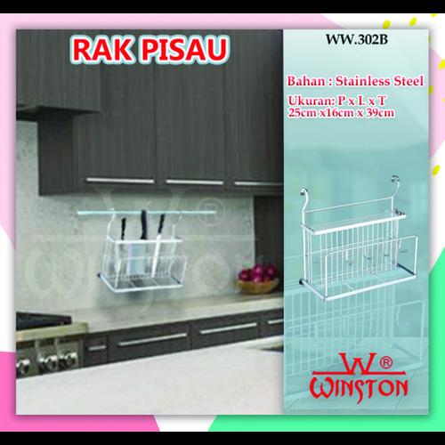 Foto Produk Rak Knife Basket/Keranjang Pisau Gantung Stainless Winston WW 302 B dari WINSTON SUKSES ABADI