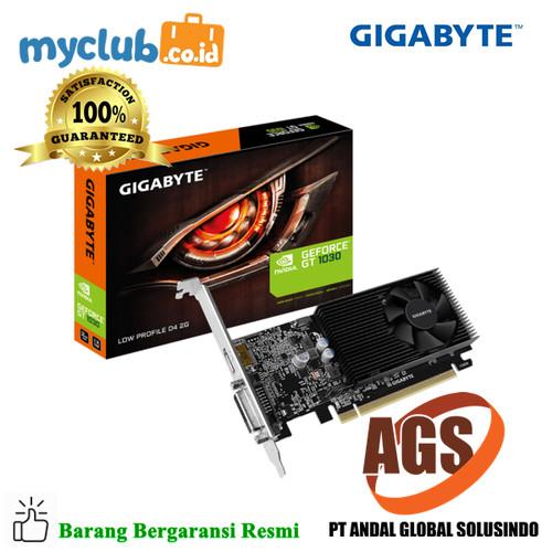 Foto Produk Gigabyte VGA GV-N1030D4-2GL GT 1030 Low Profile D4 2G dari Myclub
