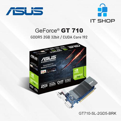 Foto Produk ASUS VGA GeForce GT 710 Silent 2GB GDDR5 dari IT-SHOP-ONLINE