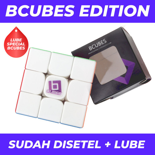 Foto Produk Rubik 3x3 BCubes RS3M / RS3 M / RS 3M 2020 Original Magnetic 3x3 - BCUBES EDITION dari Balam Cubes
