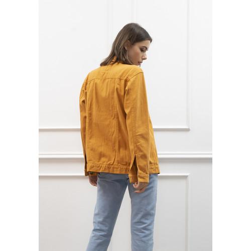 Foto Produk Jaket Jeans Pria Polos Tebal Dilan Jaket Denim Mustard dari House of Cuff