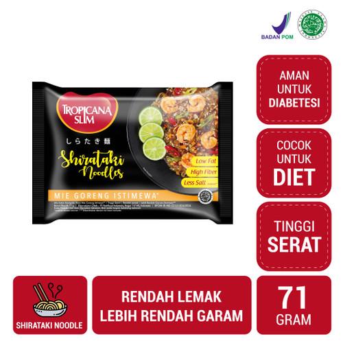 Foto Produk Tropicana Slim Shirataki Noodle: Mie Goreng Istimewa (71 gr) dari NutriMart