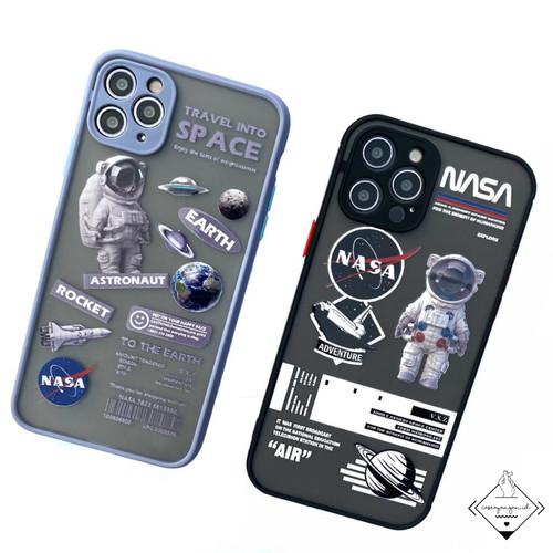 Foto Produk Nasa Lens Cover Case Iphone 6 6s Plus 7 8 SE 2020 X XS XR 11 PRO MAX - NASA BLACK, 6 6S dari Caseayangan ID