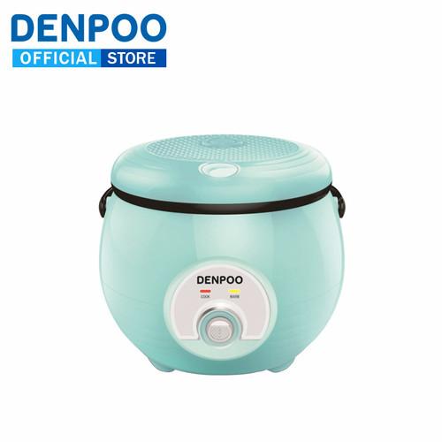 Foto Produk Denpoo Rice Cooker DMJ 33 0.8 Liter ,Warna Hijau Muda (Telor asin) dari DENPOO OFFICIAL STORE