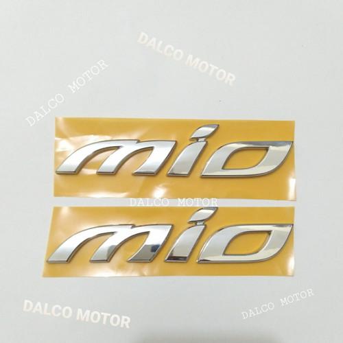 Foto Produk emblem yamaha mio chrome dari dalco motor