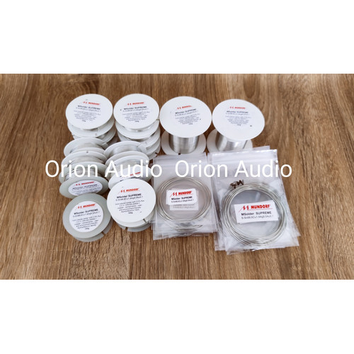 Foto Produk Timah solder Mundorf Supreme SG by Orion Audio(Pabhato) - 1meter dari Orion Audio Surabaya