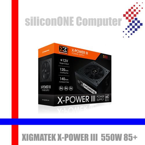 Foto Produk Xigmatek X-POWER III 550W 85+ XPOWER Powersupply PSU dari silicon ONE Computer