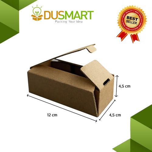 Foto Produk Kardus 4,5x4,5x12 /Karton/ Box/Kotak Parfum Polos / Diecut - Dusmart dari DUSMART Official Store