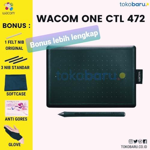 Foto Produk Wacom One small CTL-472 pen tablet wacom ekonomis garansi resmi - unit only dari tokoJBC