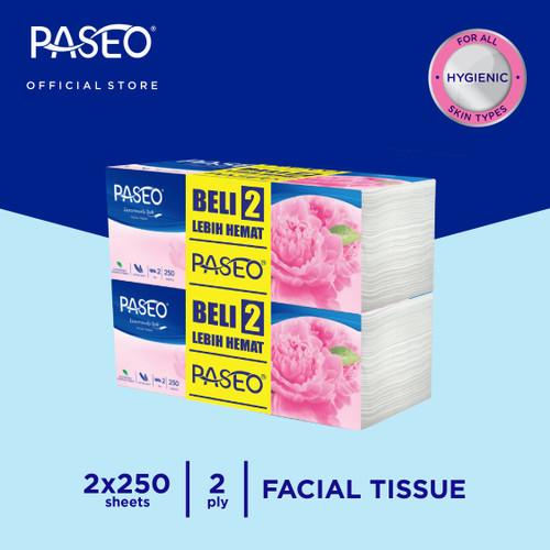 Foto Produk Paseo Elegant Tissue Wajah Soft Pack 250 Sheets - Beli 2 Lebih Hemat dari Paseo Tissue Official