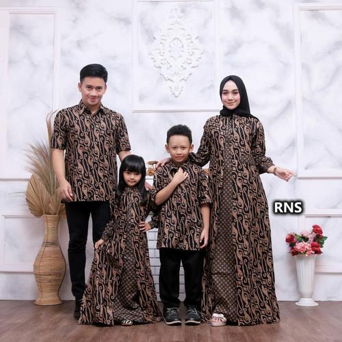 Foto Produk batik couple keluarga baju batik keluarga batik wanita pria dan anak - 4, ayah m dari falishbatikcollection