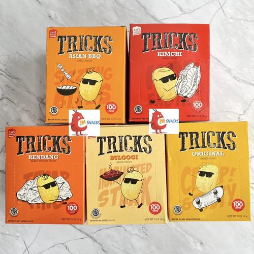 Foto Produk [PROMO!!] Tricks Potato Snacks 1pak (10x18gram) - Original dari JM Snacks