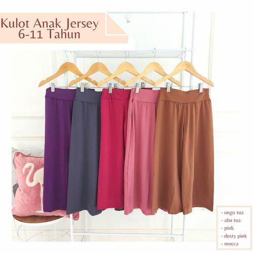 Foto Produk Celana Kulot Anak 6-10 Tahun - Celana Panjang Anak Perempuan - L 6-8 Thn dari FAF Galeri
