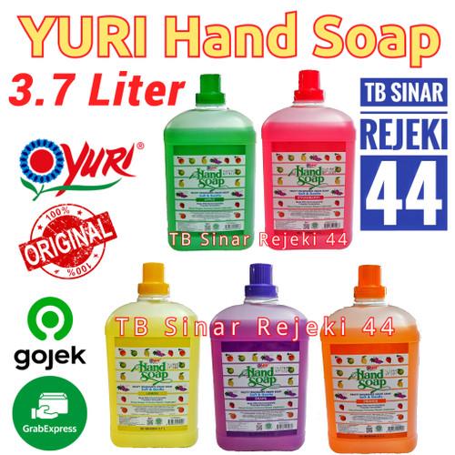 Foto Produk Yuri Hand Soap Sabun Cuci Tangan Jerigen 3.7Liter Gojek / Grab OK - GRAPE dari TB Sinar Rejeki 44