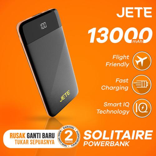 Foto Produk Powerbank JETE SOLITAIRE 13000 mAh Fast Charging Garansi 25 Bulan dari JETE Official Surabaya