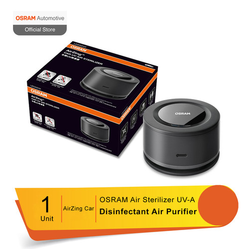 Foto Produk Air Sterilizer UV-A OSRAM AirZing Car - Disinfectant Air Purifier dari Osram Automotive