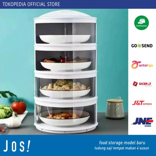 Foto Produk Food Storage model baru tudung saji tempat makan 4 susun dari J O S