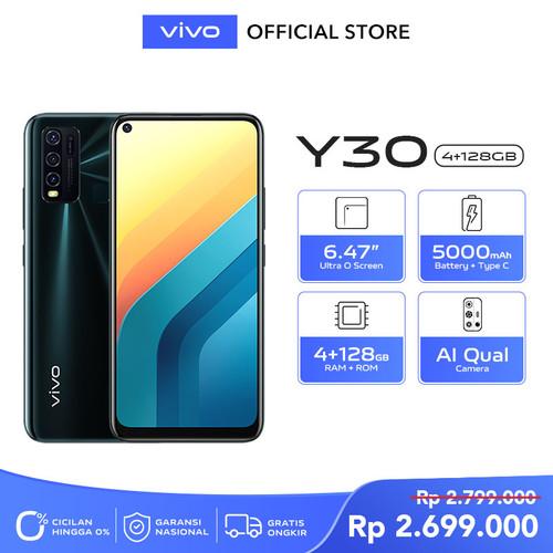 Foto Produk Vivo Y30 [4/128] RAM 4GB ROM 128GB Emerald Black dari vivo Indonesia