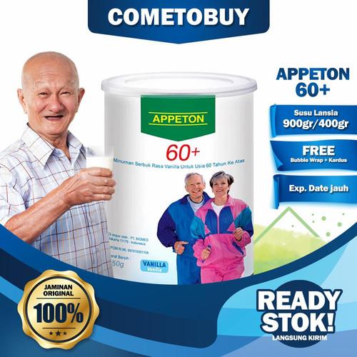 Foto Produk APPETON 60+ / Susu Lansia - Orang Tua (Vanilla) 450 Gram apeton 450gr dari cometobuy