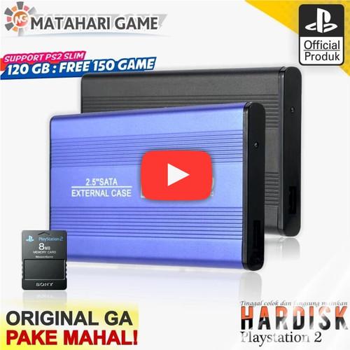Foto Produk PS2 - Hardisk Eksternal PS2 120GB - Support Semua PS2 Full Game slim dari MatahariGame