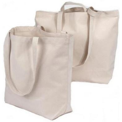Foto Produk Tote Bag Polos Kameha Tebal Kuat Ready Stock - Putih dari KamehaShop.com