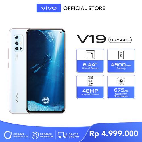 Foto Produk Vivo V19 [8/256] RAM 8GB ROM 256GB Crystal White dari Vivo Indonesia