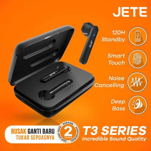 Foto Produk TWS Jete T3 | Handsfree Bluetooth TWS JETE T3 - Original Garansi Resmi dari JETE Official Surabaya