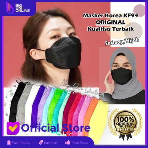 Foto Produk Maker KF94, Masker 4Ply Convex, Masker korea 4Ply, Evo KN95, N95 mask - Putih dari BigOneOnline