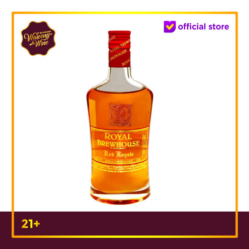 Foto Produk PROMO Whisky Royal Brewhouse Red Royale 350ml dari Waroeng Wine GS
