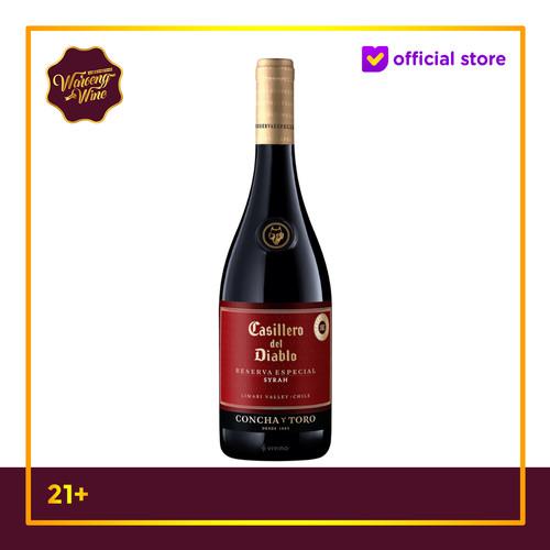 Foto Produk Casillero Del Diablo Reserva Especial Shiraz dari Waroeng Wine GS