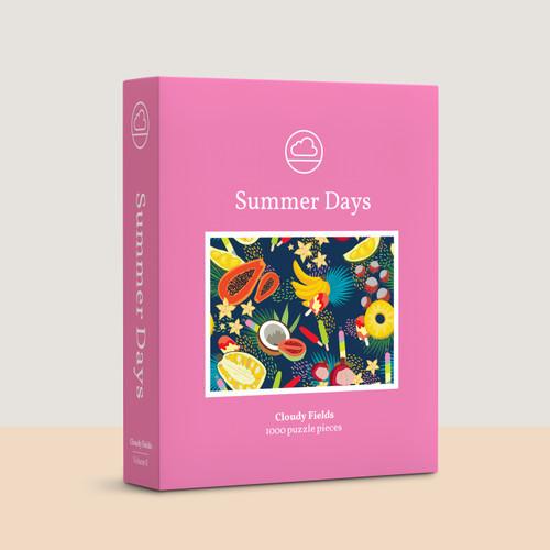 Foto Produk Summer Days - Jigsaw Puzzle 1000 pieces dari Cloudy Fields