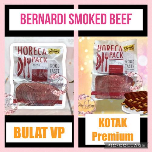 Foto Produk Bernardi smoked beef horeca pack 500gr - Bulat VP dari Aishakira online