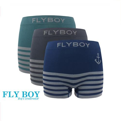 Foto Produk Flyboy Celana Dalam Anak Laki Boys Boxer Seamless FBC 3332 - M dari Flyman Nathalie Store