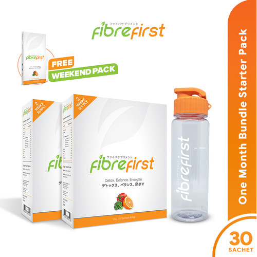 Foto Produk FibreFirst One Month Bundle Starter Pack Free Weekend Pack dari FibreFirst Official