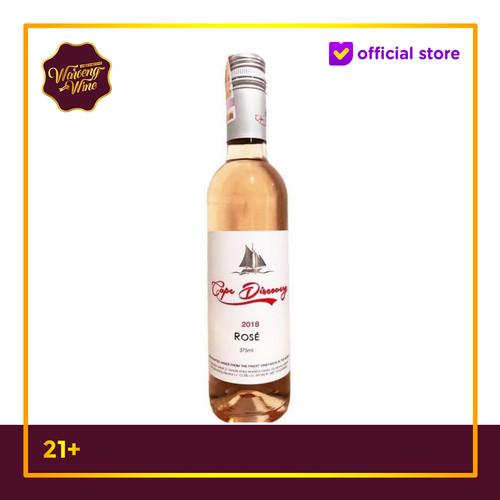 Foto Produk Wine Cape Discovery Rose Wine 375ml dari Waroeng Wine GS