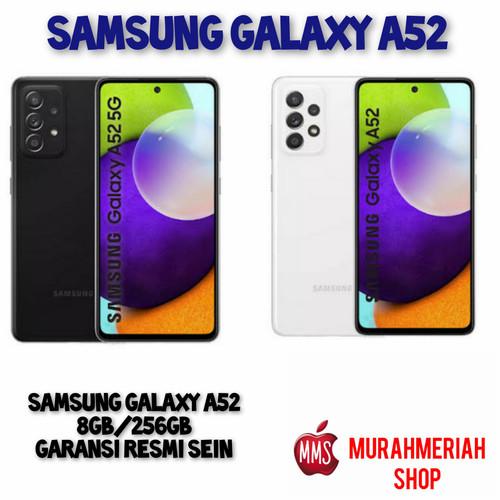 Foto Produk Samsung Galaxy A52 (8/128Gb - 8/256Gb) Garansi Resmi SEIN - 8GB.128GB, black dari murahmeriah shop