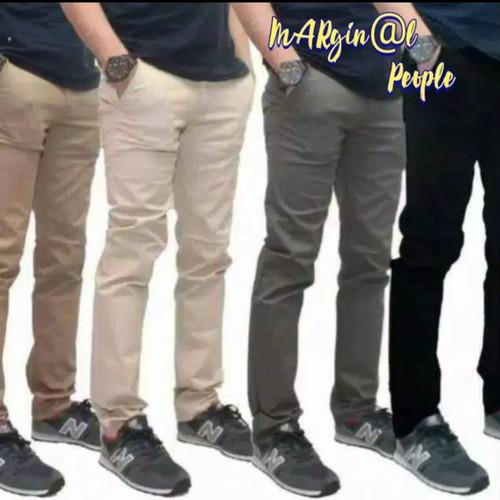 Foto Produk celana chino panjang slimfit / celana cino pria dari ilhamfashion03