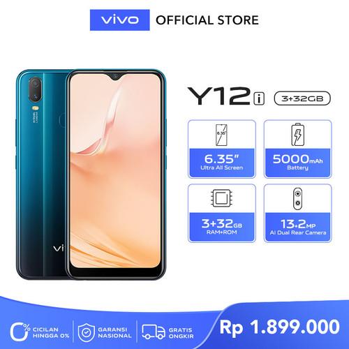 Foto Produk Vivo Y12i [3/32] RAM 3 ROM 32 Mineral Blue dari vivo Indonesia