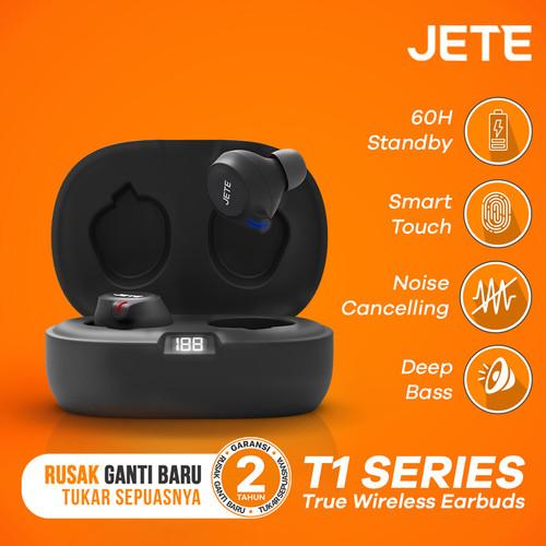 Foto Produk TWS I Headset Bluetooth I Earphone Wireless JETE T1 with LED Display dari JETE Official Surabaya