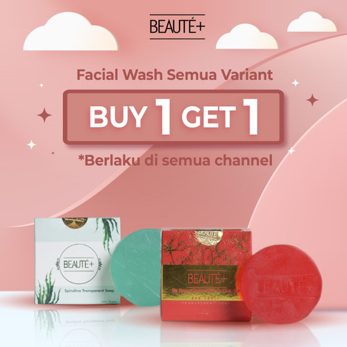 Foto Produk Beaute+ Red Fruit Facial Soap by Roger & Cut Meyriska   Beaute Plus dari Beauteplus Official