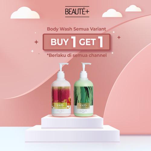 Foto Produk Beaute+ Spirulina Body Wash by Roger & Cut Meyriska   Beaute Plus dari Beauteplus Official
