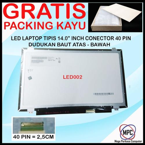 Foto Produk LCD LED 14.0 14 Inch SLIM 40 PIN dari Mega Perkasa Computer